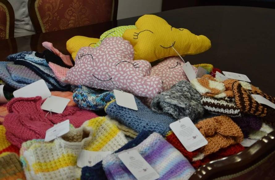 Na osnovni šoli Velika Dolina izdelovali pletene in kvačkane izdelke